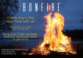 New Years Eve Bonfire